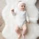 Body bébé maille ajourée 3 mois  100% coton biologique