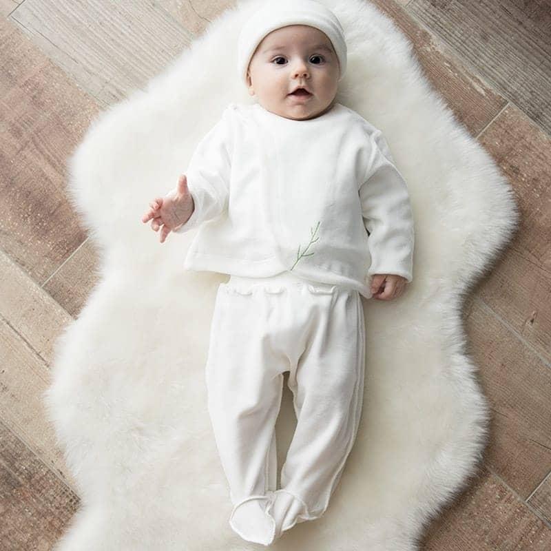 Pantalon Sarouel en velours 100% coton biologique