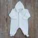 Pyjama bébé velours 100 % coton biologique