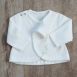 Veste velours pour bébé 100% coton biologique