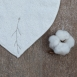 Petit Bavoir éponge 100% coton biologique