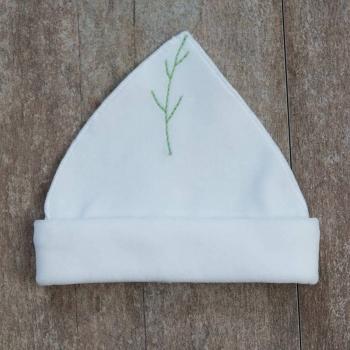 Bonnet bébé interlock 100% coton biologique