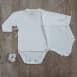 Body bébé 0 à 1 mois  interlock 100% coton biologique