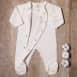 Pyjama velours en coton bio