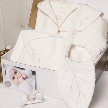 Coffret bébé pour le bain en coton biologique