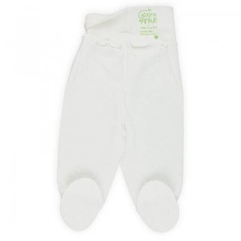 Dos Pantalon bébé maille ajourée 100% coton biologique