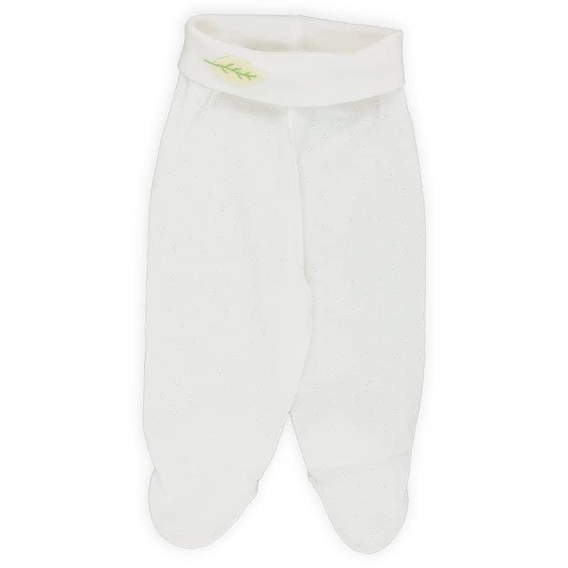 Pantalon bébé maille ajourée 100% coton bio